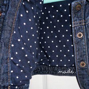 GAP Jackets & Coats - 💔 SOLD 💔 Baby Gap Size Dark Wash Denim Jacket